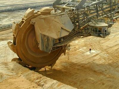 Cosas Únicas: ThyssenKrupp Bagger 288 ;La Máquina Excavadora Más Grande del Mundo