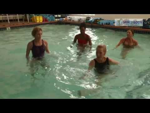 9 wonderful water workouts: Lose fat, get fit! With Lynda Huey, M.S.This video demonstrates how to get a full body workout with just the resistance of the water. Great for beginners. Nefitco.com A+ rated.