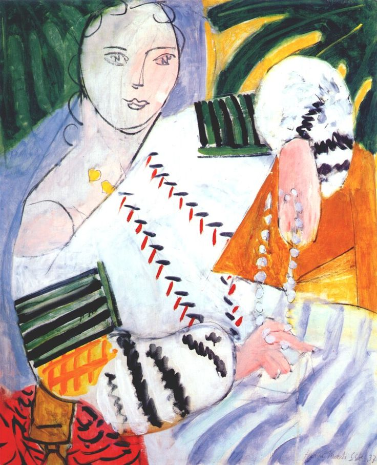 """thefabricpress: """" Henri Matisse: different perspectives on the Romanian blouse """""""