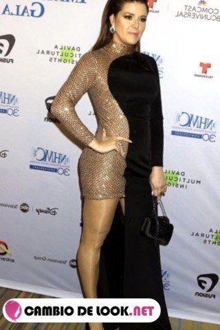 Alicia Machado maquillaje -