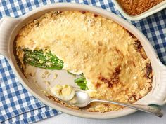 Asparagus Casserole : Trisha Yearwood | An asparagus casserole sounds amazing!