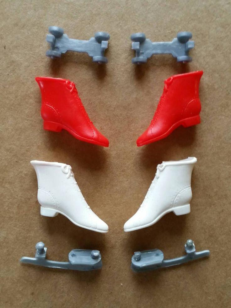 1960s Barbie rink & court skates original pak accessories by starwarsdan on Etsy