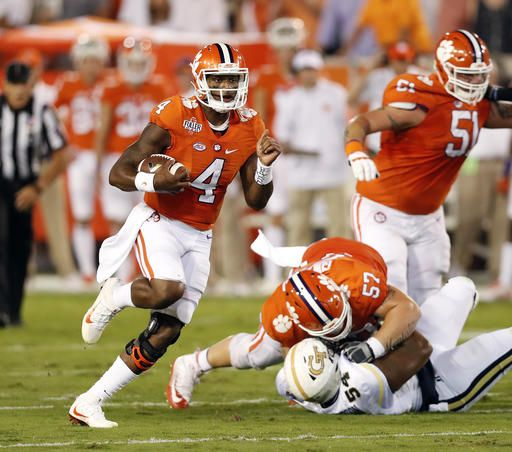 Clemson quarterback Deshaun Watson was named second team QB for The Associated Press All-America team, released Monday. We are so proud of our hometown hero!