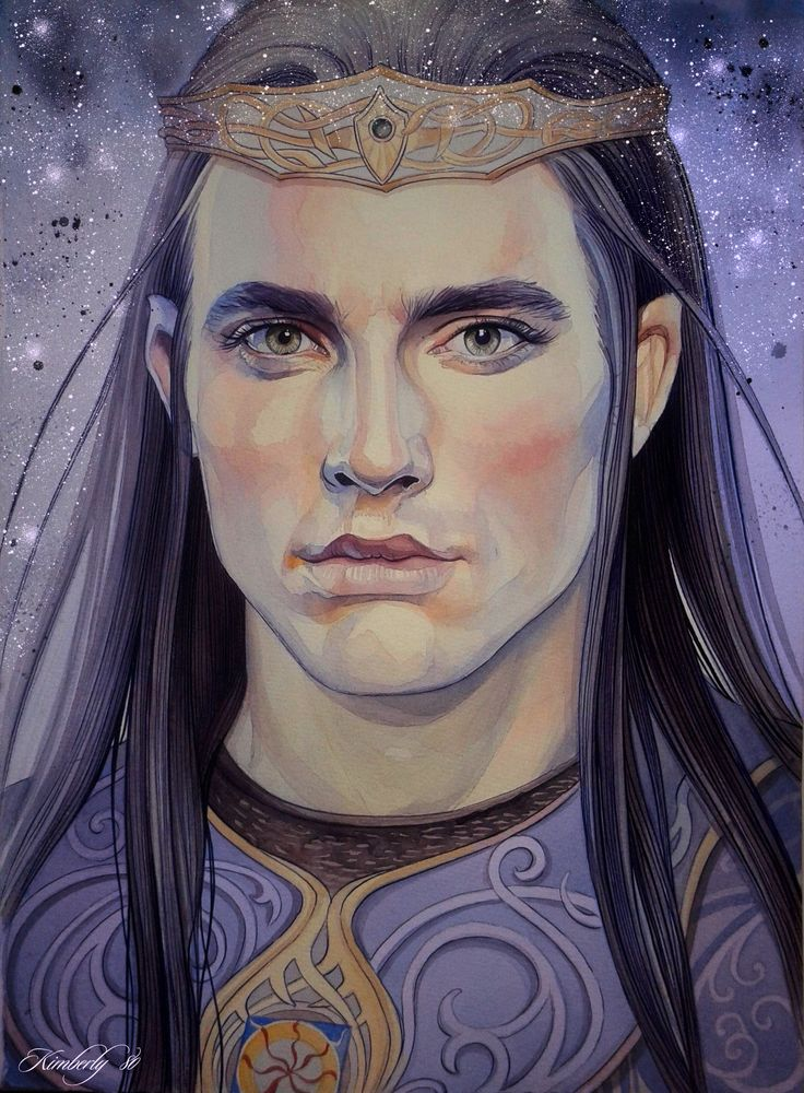 """Fingolfin was the second son of Finwë, full brother of Finarfin, and half-brother of Fëanor. His mother was Finwë's second wife Indis. Fingolfin was said to be the strongest, most steadfast, and most valiant of Finwë's sons, and some have named him the greatest warrior of all the Children of Ilúvatar. His name in Quenya was Nolofinwë, or """"wise Finwë."""""""
