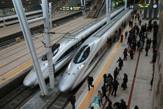China launched services Wednesday on the world's longest high-speed rail route, the latest milestone in the country's rapid and -- sometimes troubled -- super-fast rail network.
