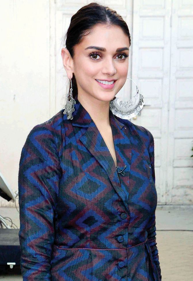 Aditi Rao Hydari at a #Wazir promo event. #Bollywood #Fashion #Style #Beauty #Hot #Cute