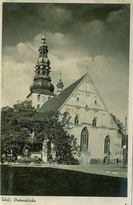 Tilsit - Ordenskirche https://www.facebook.com/lostprussia/photos/a.601473756593533.1073741827.517377898336453/801977816543125/?type=1