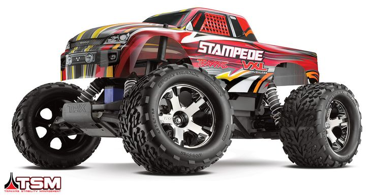 The World's Most Extreme Monster Truck! Traxxas Stability ManagementTM TSM helps provide straight ahead full-throttle acceleration on slippery surfaces, without fishtailing, spinouts, and loss of cont