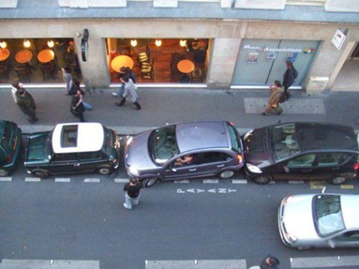 Авто и мы - Auto and we: Нет места для парковки? Поставь машину стоя…