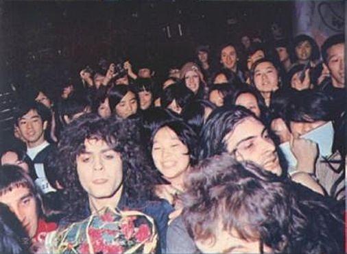 Marc Bolan & Mickey Finn in Japan (1972)