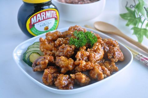 Marmite is made from yeast extract, a by-product of beer brewing. ~ From Wikipedia. Although I've tried Marmite dishes before at the zhi char stall but prior to this, I seriously wasn't…