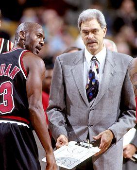 Michael 'Air' Jordan........and Phil Jackson