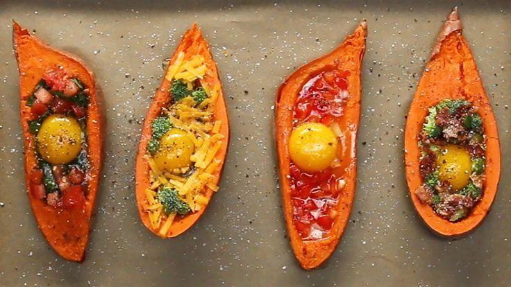 Sweet Potato Breakfast, Breakfast Potatoes, Breakfast Recipes, Recipes Dinner, Breakfast Club, Gourmet Recipes, Cooking Recipes, Healthy Recipes, Healthy Food