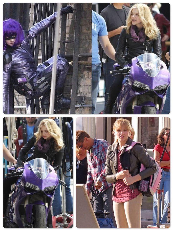 chloe moretz kick ass 2 photos | ϟ Kick-Ass 2 - Chloe Moretz e Jim Carrey | Nerd Pai - O Blog do Pai ...