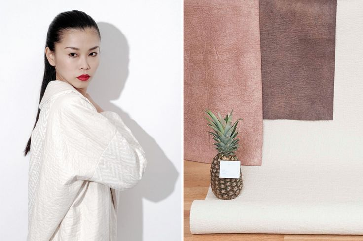 Piñatex - A textile creates a new industry for pineapple-growing countries and farmers