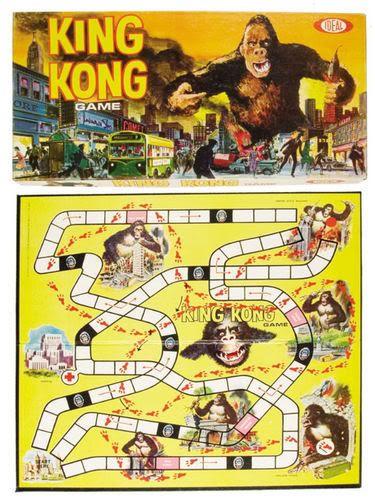 vintage godzilla board game   Top 25 Vintage Horror Themed Board Games