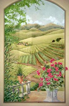 19 best tuscan wall murals images on pinterest | wallpaper murals
