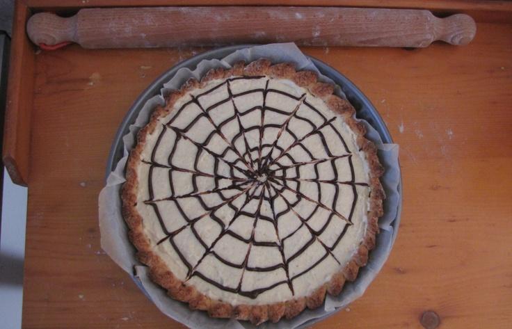 Choco-vanilla crostata