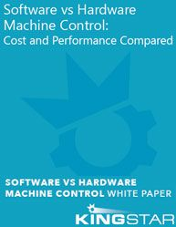 [[ Software vs Hardware Machine Control: Cost and Performance Compared ]]   OEMs traditionally used DSP-based hardware, plugged into a PC, for motion control. But new software-based solutions have challenged this approach, claiming better performance