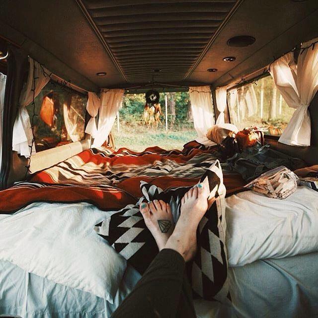 "783 Likes, 61 Comments - Elizabeth aka @van_grrrl (@van.crush) on Instagram: ""Amazing interior💕💕#vancrush • • Repost from @hoboarchitect  #vanlife #vanlifediaries #campervan…"""