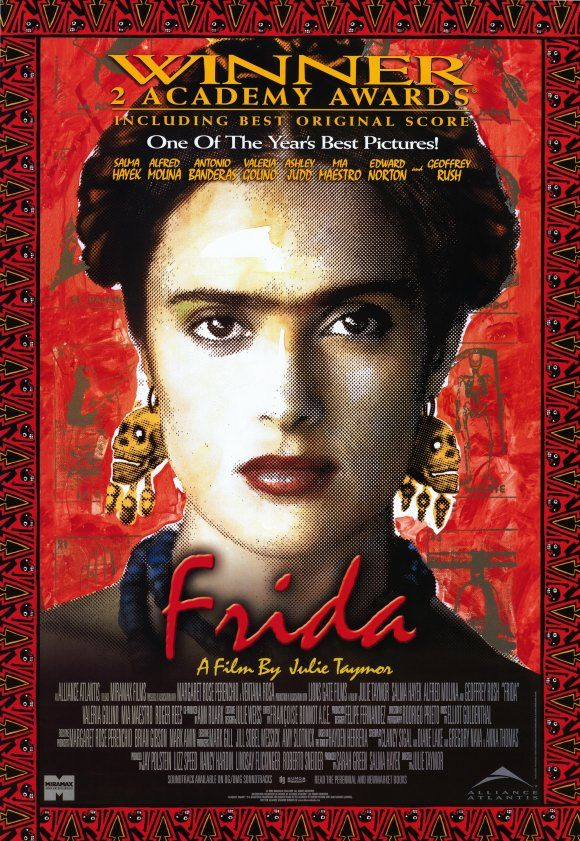 """Frida"" starring Selma Hayek and Alfred Molina. Directed by Julie Taymor. 2002."