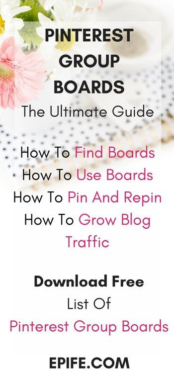 Do you want to know how can pinterest group boards can totally up level your blog traffic? Get the guide to know how to use boards, how to find boards, how to pin and repin! Get the free list of boards to join. Click to read and Pin.