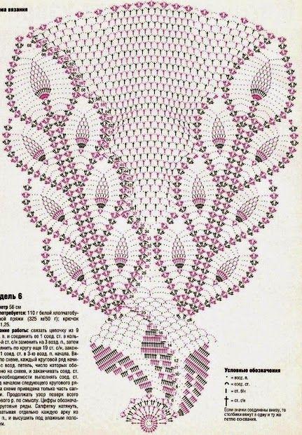 Kira crochet: Scheme no. 14