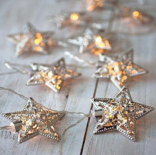 Работающий от аккумулятор теплый белый из светодиодов фея Lights10 металл звезда строка украшения свет для фестиваля хэллоуин рождество ну вечеринку свадебные купить на AliExpress