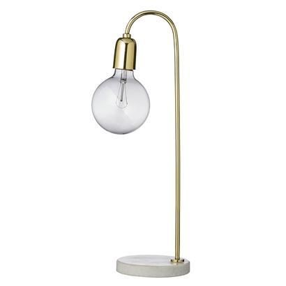 Mramorová stolní lampa - Elarte ♦ Eshop s českým a světovým designem. Bytové dekoracemi a doplňky. Originální a jedinečné šperky.