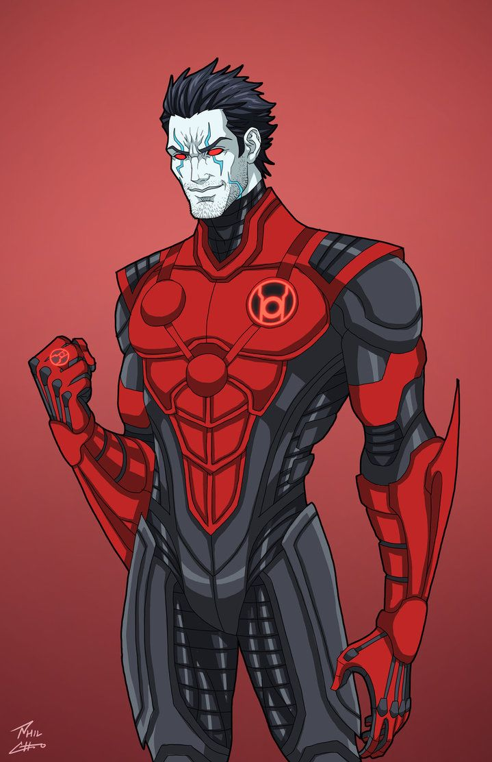 Apex - Red Lantern commission by phil-cho