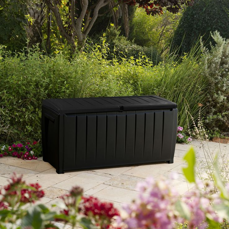 Kentucky Plastic Garden Storage Box | Departments | DIY at B&Q