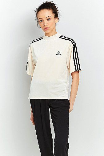 awesome adidas Originals - T-Shirt aus Samt - Damen 34