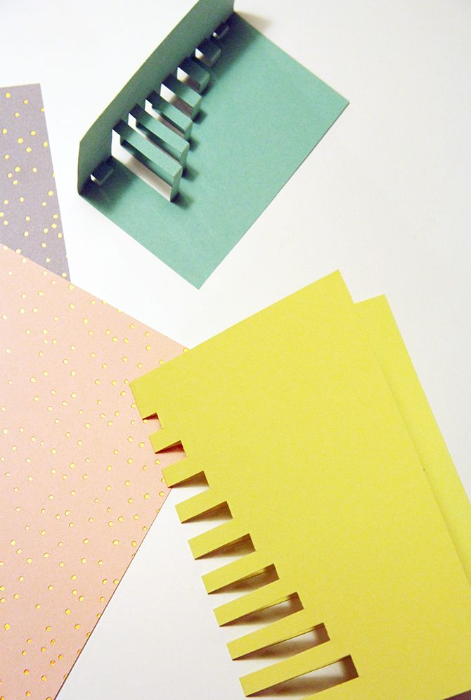 DIY cut-out christmas cards by Pinjacolada blog