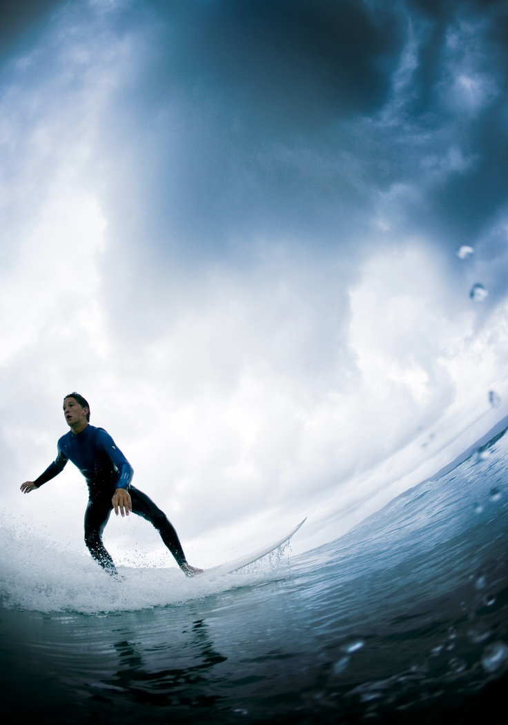 Marcos, surf in Galicia