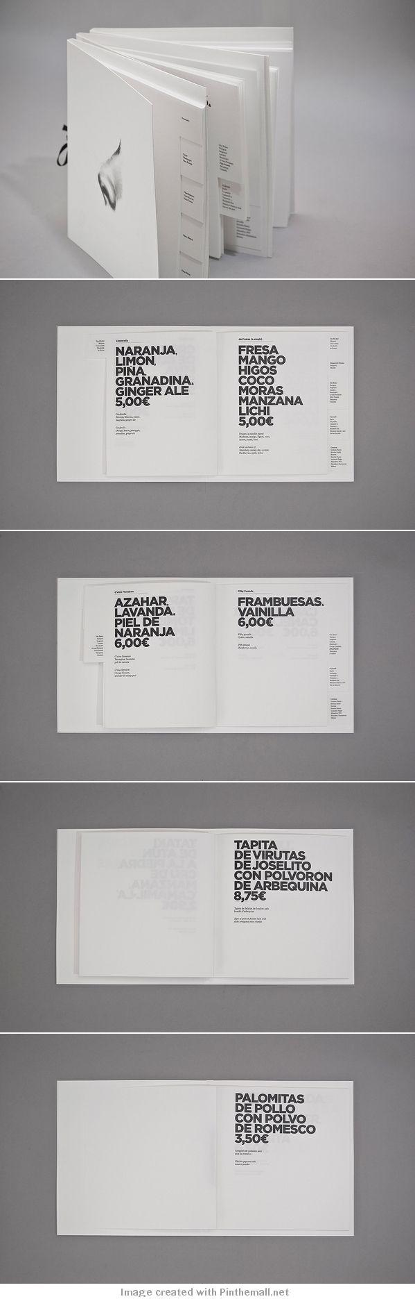 Aroma menu