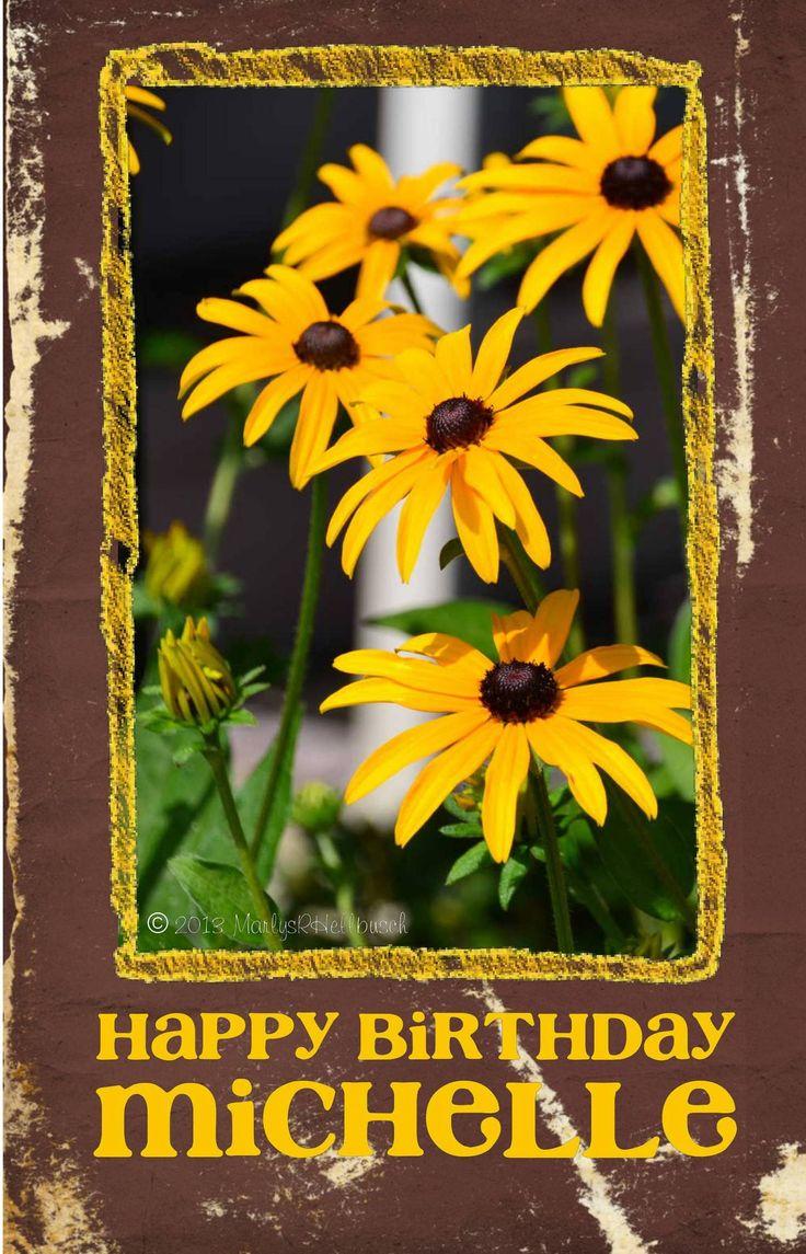 Happy Birthday Michelle Happy birthday