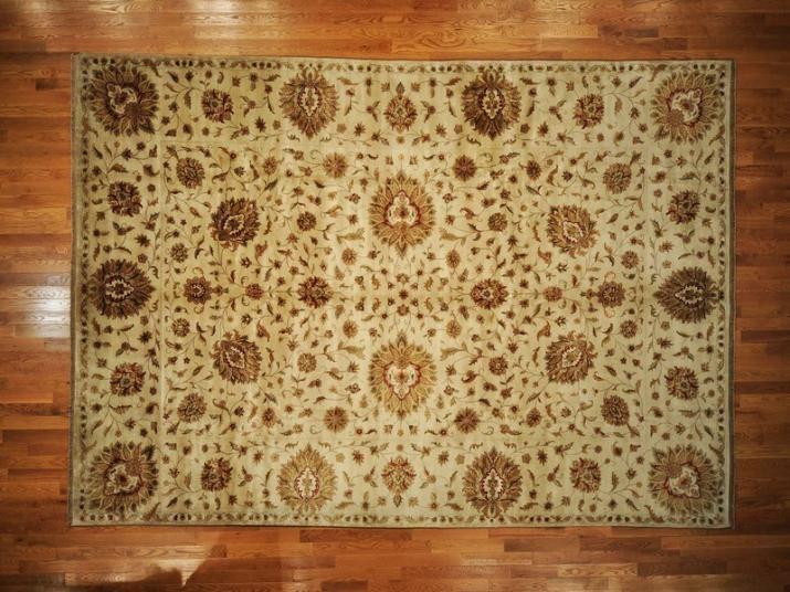 oriental rug hand knotted tabriz revival 10u0027 x 14u0027 300 kpsi 100