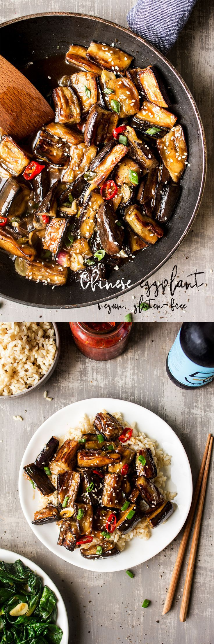 480 best chinese food drinks and recipes images on pinterest vegan chinese aubergine forumfinder Images