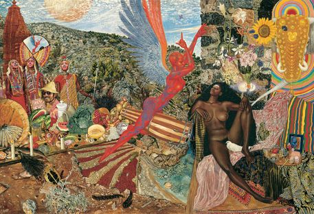 'Annunciation (1961)' by Mati Klarwein on artflakes.com as poster or art print $21.74