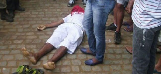Homem que saía de festa é executado a tiros