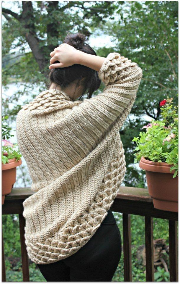 CrocheCrochet Sweaters Pattern, Crochet Shirts, Sweater Patterns, Unique Crochet, Stitches Cardigans, Bonitas Pattern, Crochet Patterns, Crocodile Stitches, Crochet Clothing