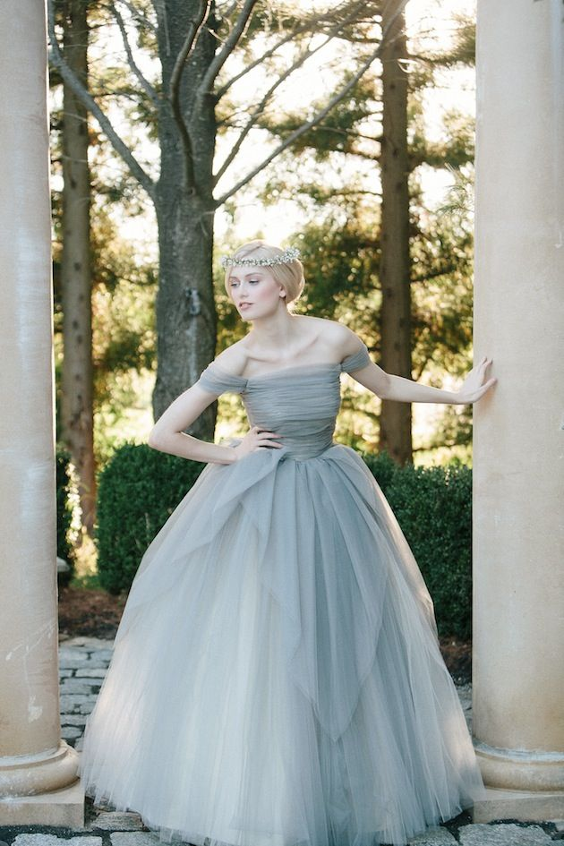 Marie Antoinette Ball Gown Wedding Dress By Sareh Nouri