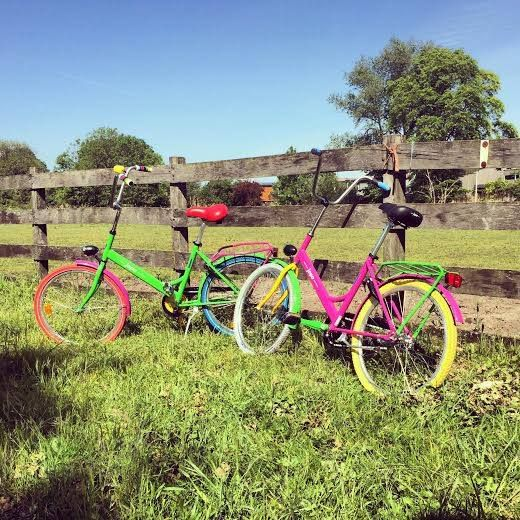 Do you want to enjoy this sunny spring day somewhere quiet? You will find the most inspiring places with a one-of-a-kind jopo bike.