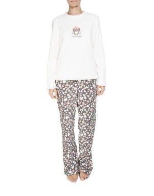 Hearts Fleece Pyjamas   Woolworths.co.za