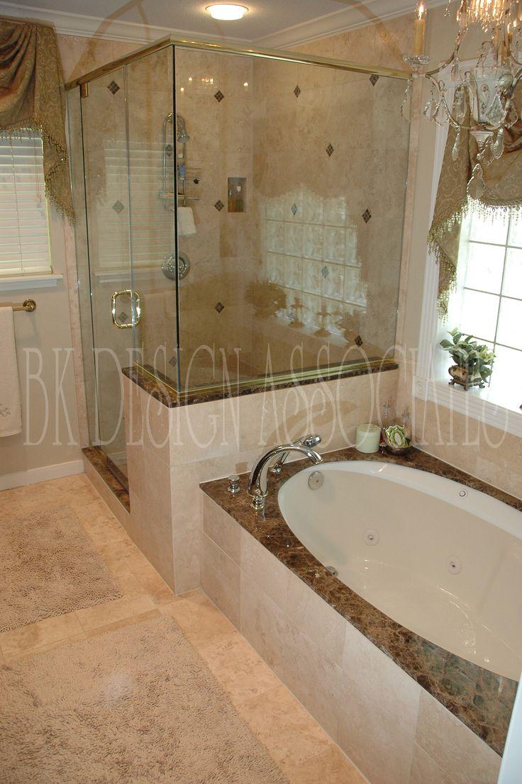 master bathroom ideas photo gallery   Master Bath Shower - Houston Interior Design Firm, BK Design ...