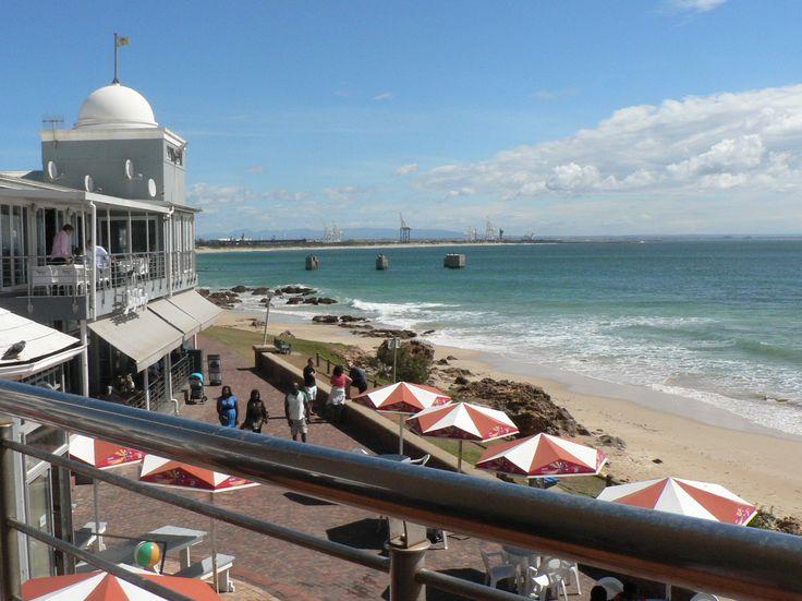 Beachfront in Port Elizabeth, Eastern Cape, South Africa