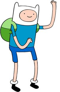 Adventure time 30 day challenge- day 3-character to be roommates with- Finn the human
