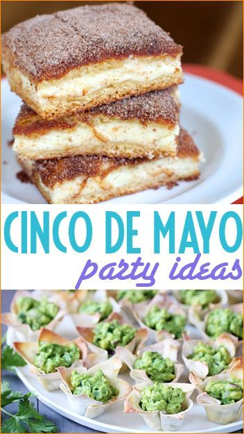 Cinco de Mayo Party Ideas.  Great ideas for a Mexican Fiesta!  Party decor, activities and food.