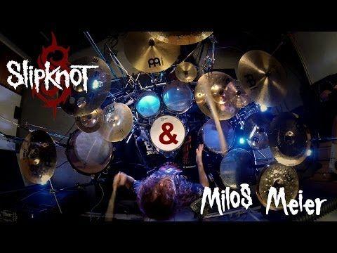(1) Miloš Meier - SLIPKNOT - Psychosocial + DRUM SOLO (Drum Cover) - YouTube