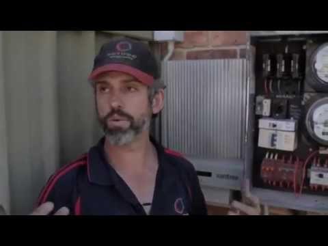 Solar Power Install Part 2   The Solar Inverter